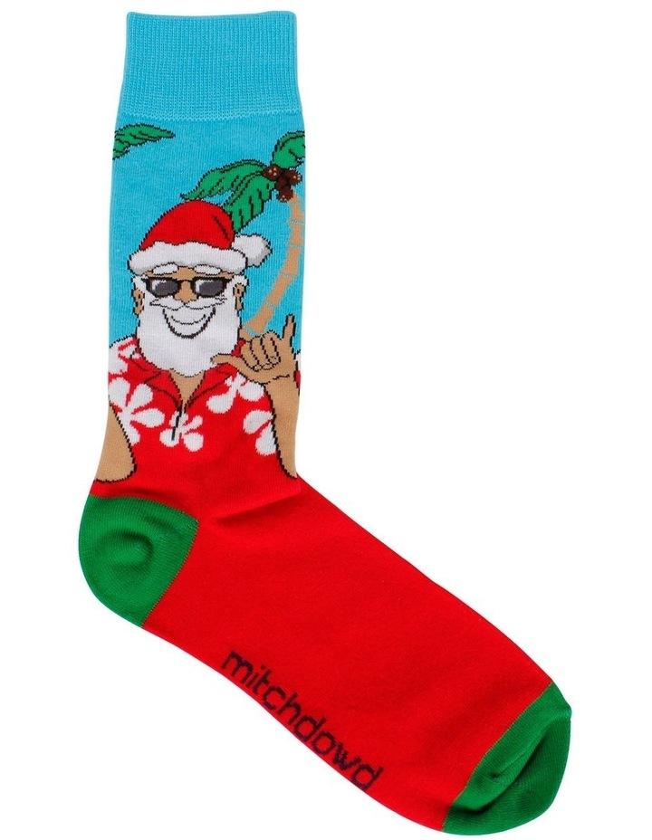Holiday Santa Sock image 1