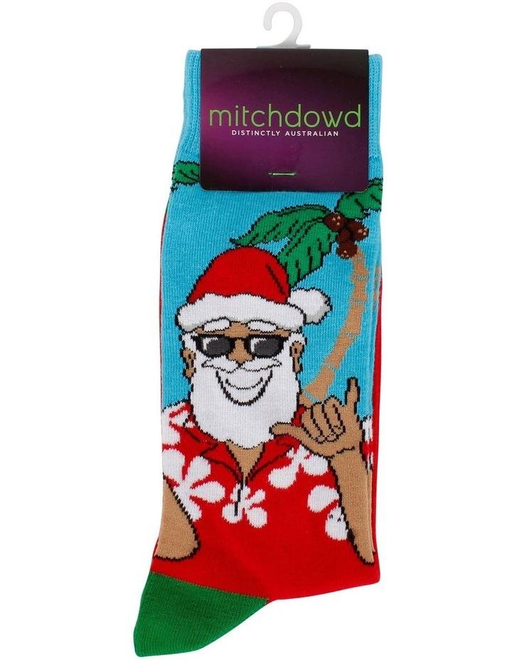Holiday Santa Sock image 2