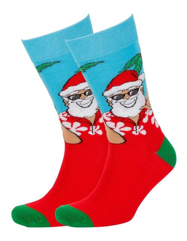 Holiday Santa Sock image 3