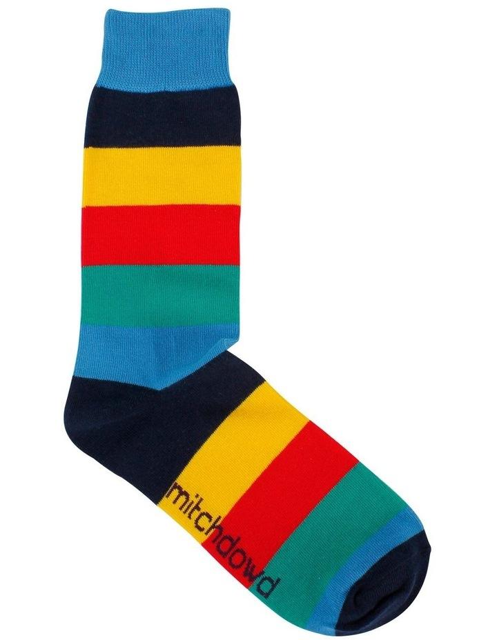 Big Stripe Fashion Sock image 1