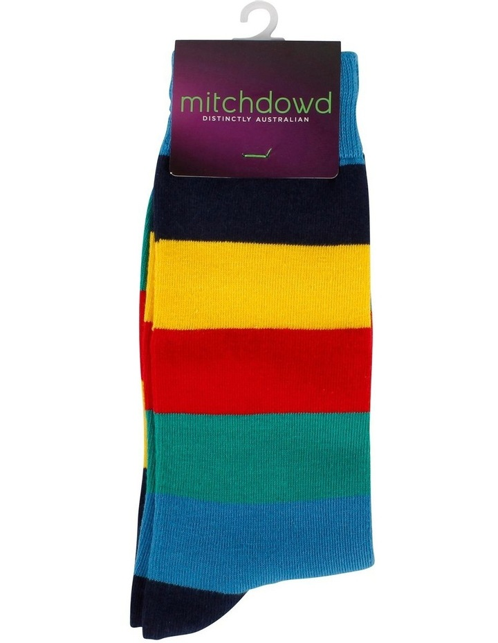 Big Stripe Fashion Sock image 2