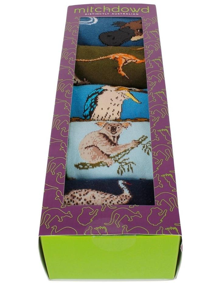 Australian Favourites 5 Pk Sock Gift Box image 2