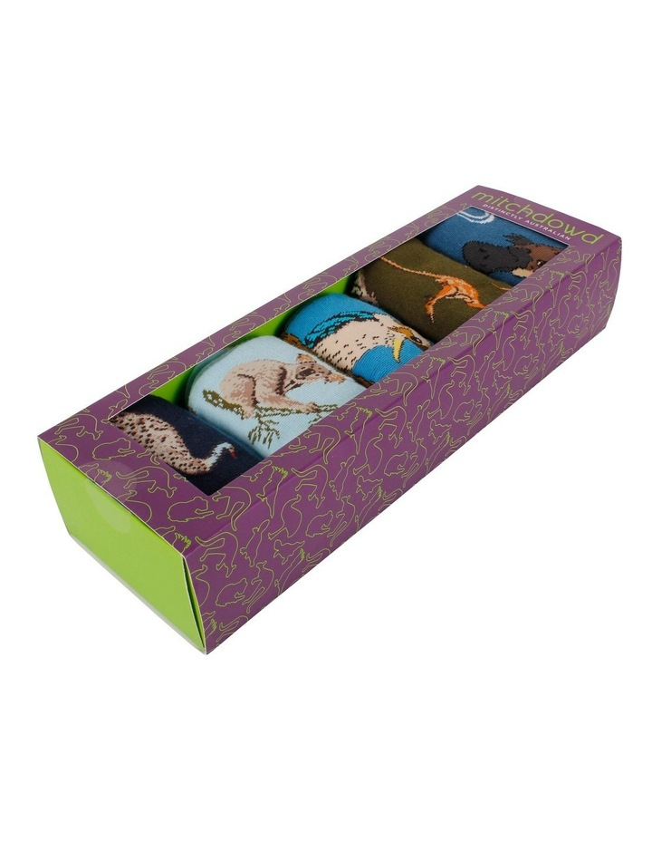 Australian Favourites 5 Pk Sock Gift Box image 3