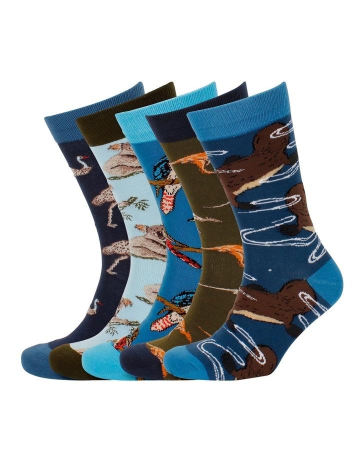 Australian Favourites 5 Pk Sock Gift Box image 4