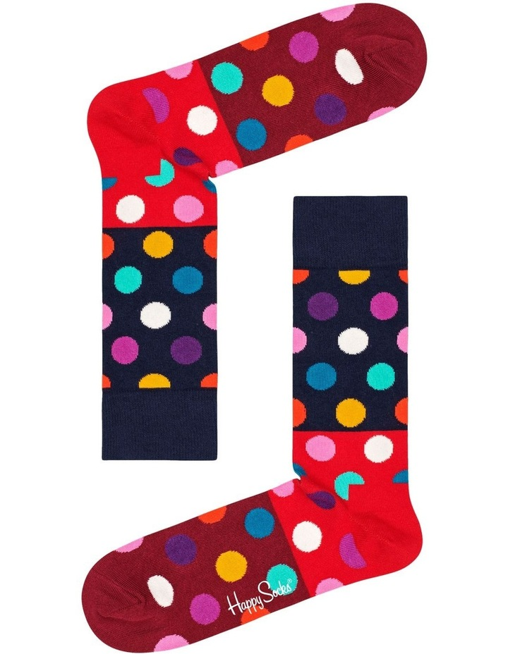 Big Dot Block Sock image 1