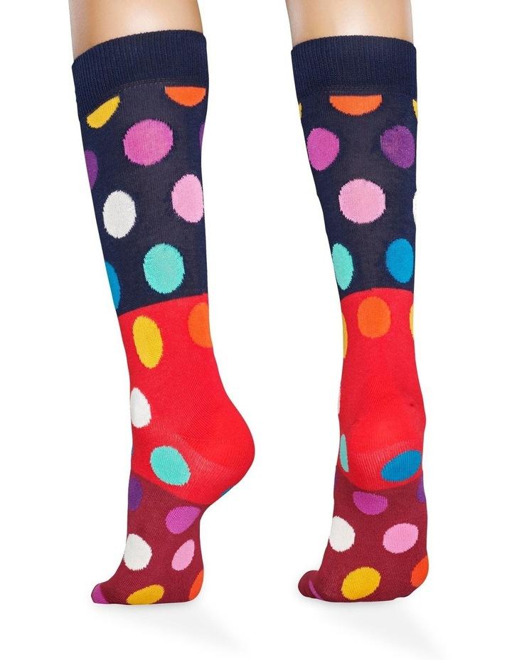 Big Dot Block Sock image 2