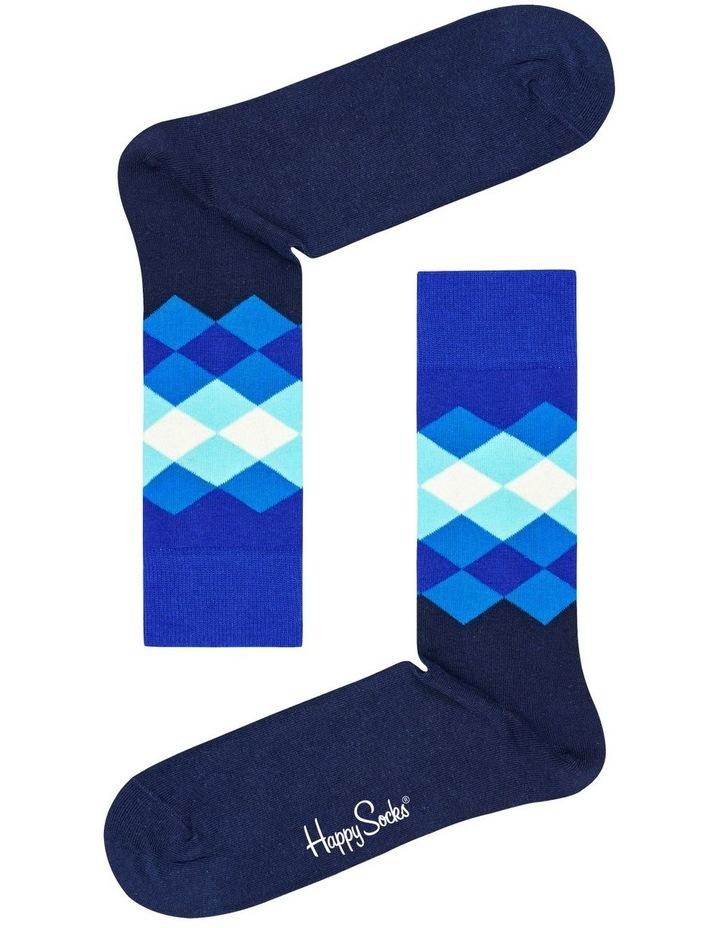 Faded Diamond Sock image 1