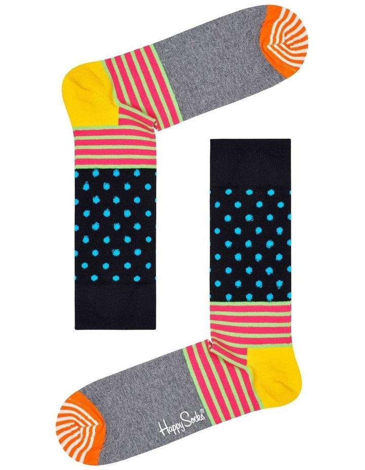 Stripe And Dot Sock image 1