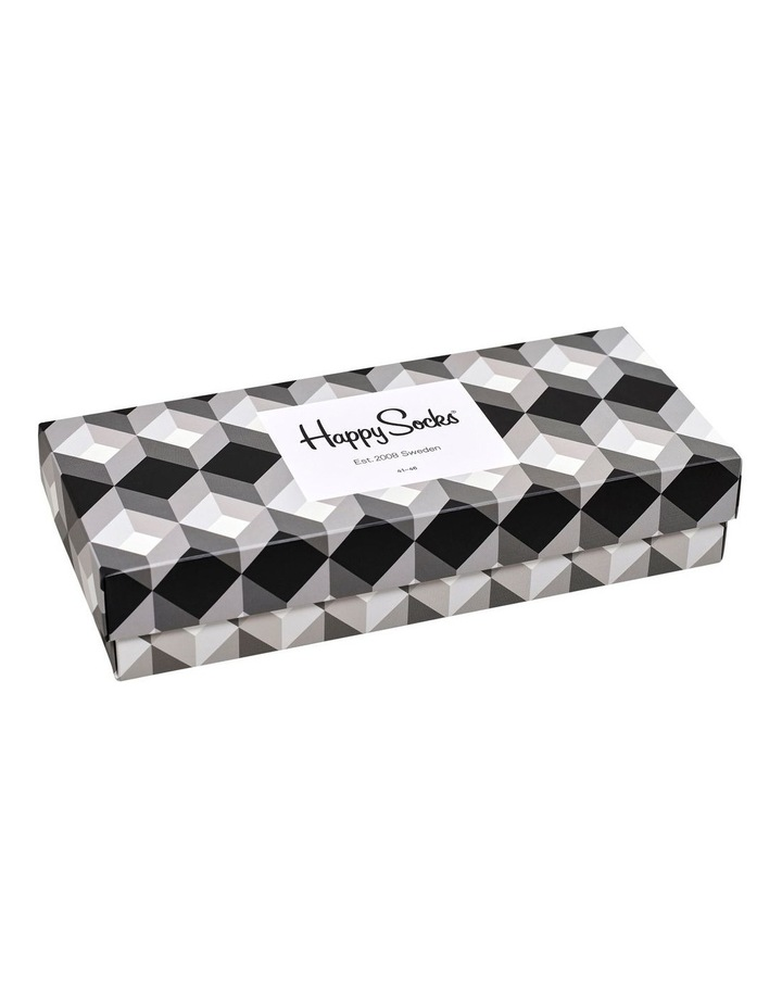 Black And White 4 Pack Gift Box image 3