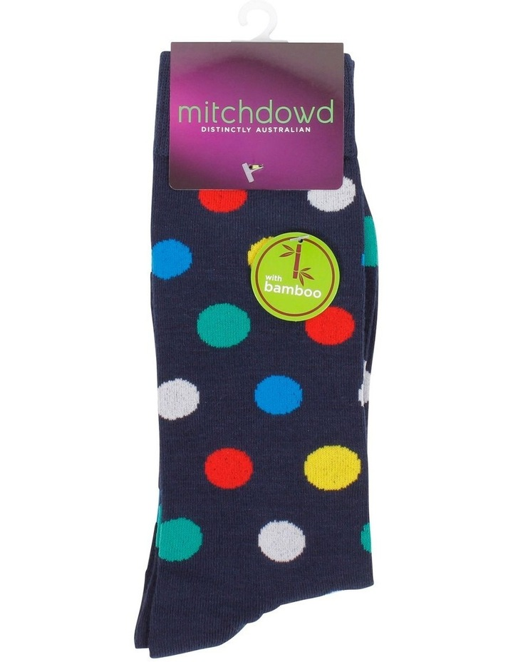 Dots Bamboo Fashion Socks image 2