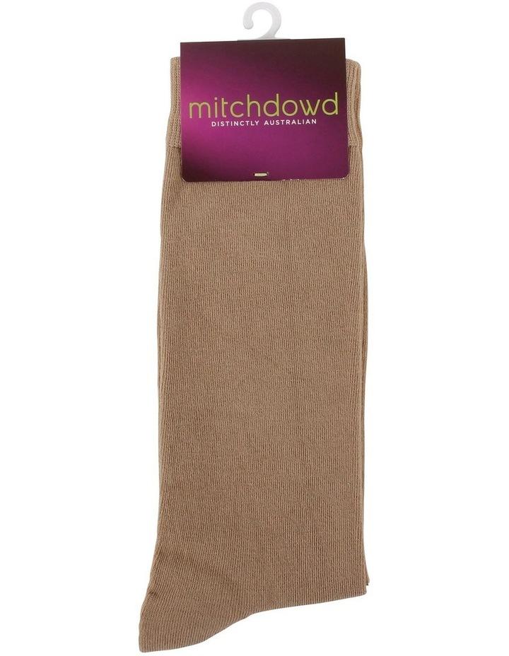 Men'S Plain Modal Business Socks image 3
