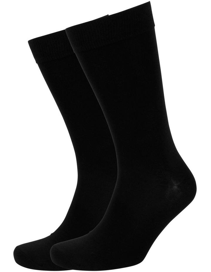 Men'S Plain Modal Business Sock image 1