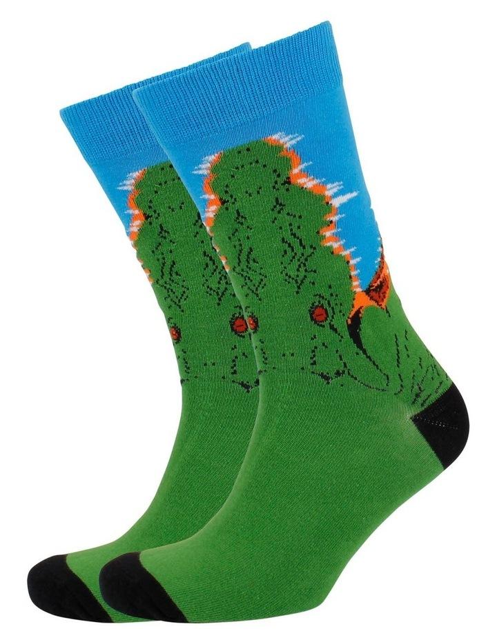 Croc Face Sock image 3