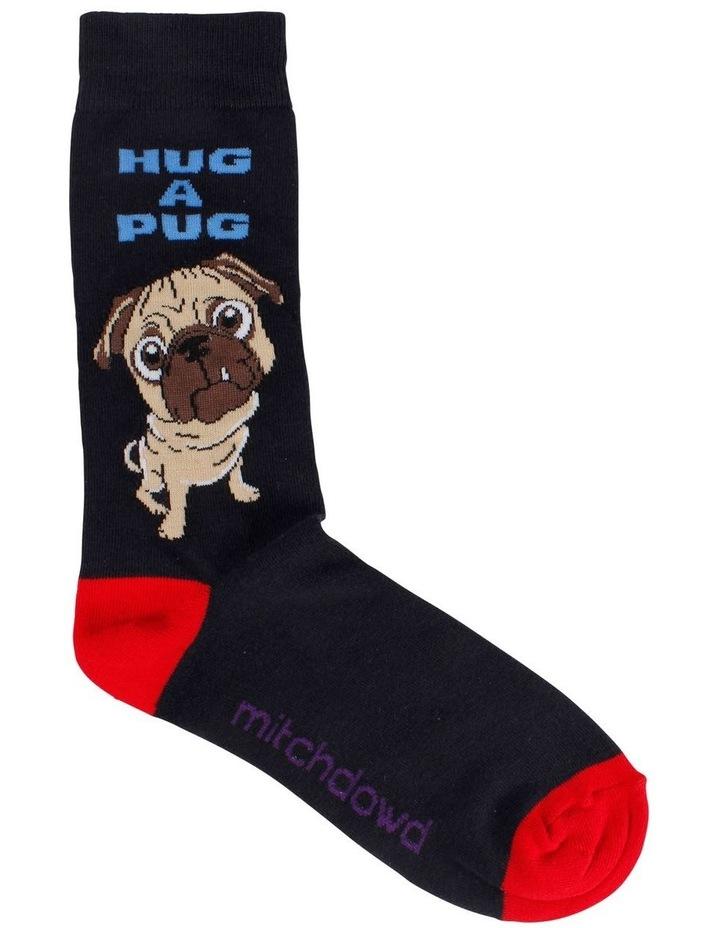 Hug A Pug Sock image 1