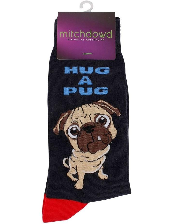 Hug A Pug Sock image 2