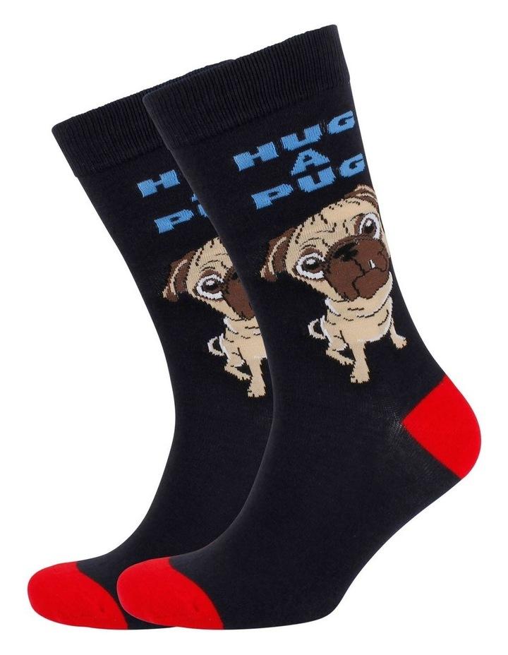 Hug A Pug Sock image 3