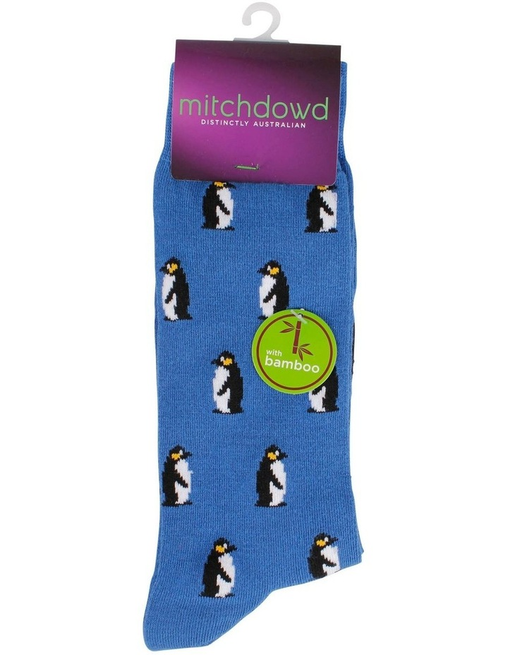 Penguins Bamboo Sock image 2