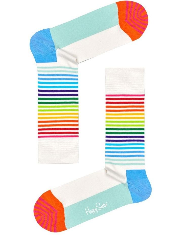 Half Stripe Sock image 1