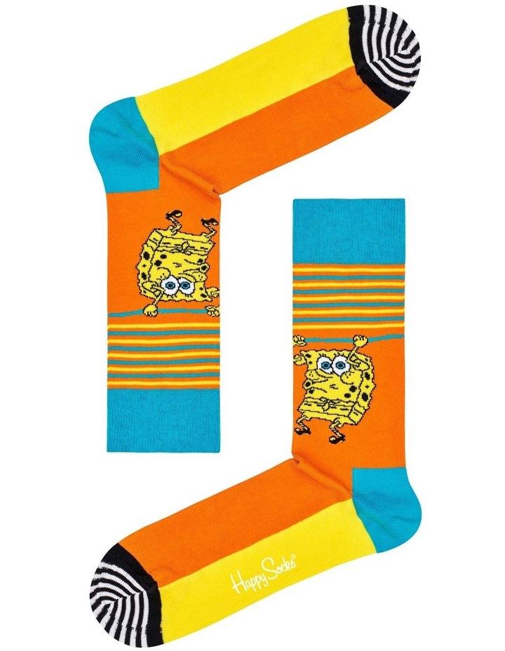 Sponge Bob Let?S Work It Out Sock image 1