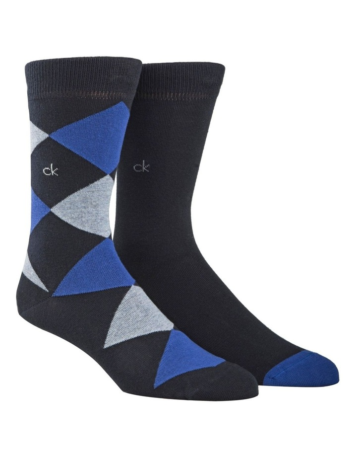 2 Pack Argyle Socks image 1