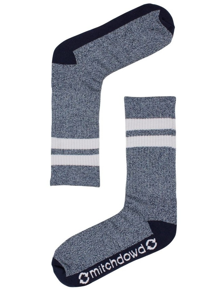 Eco Twist Crew Sock image 1