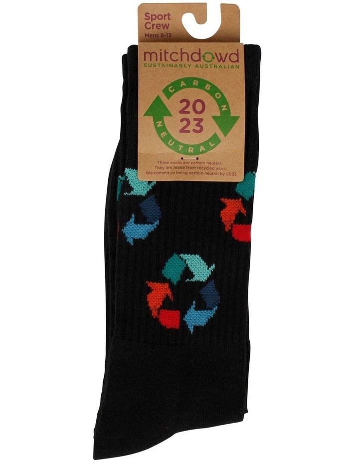 Eco Recycle Crew Socks image 2