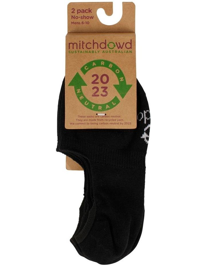 Eco 2 pack Sneaker Socks image 2