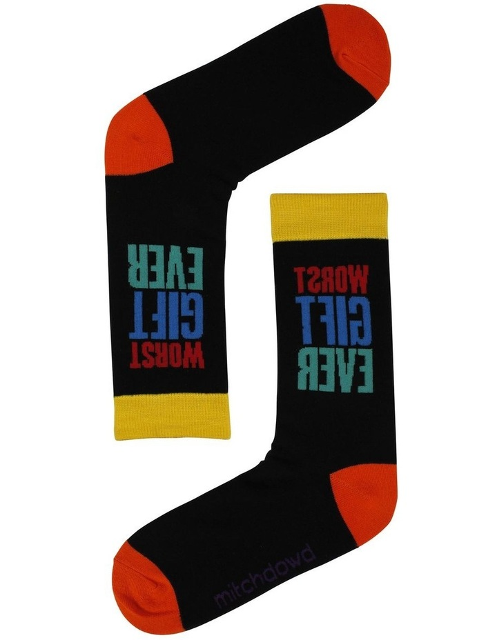 Worst Gift Ever Socks image 1