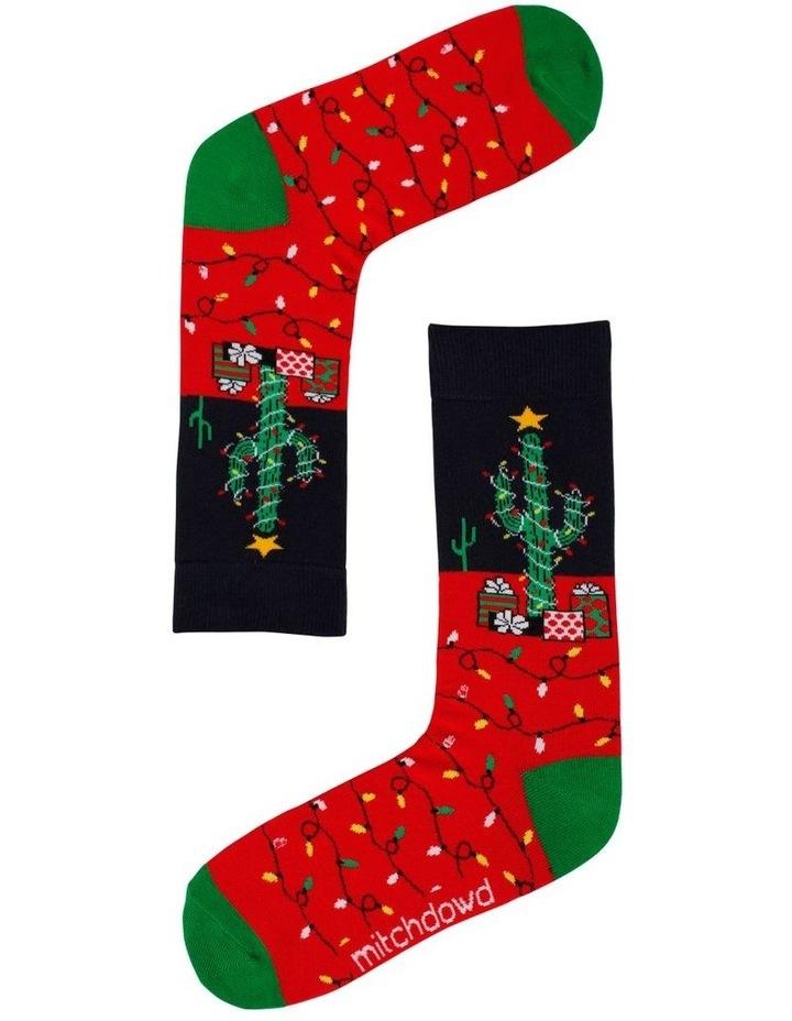 Christmas Cactus Socks image 1