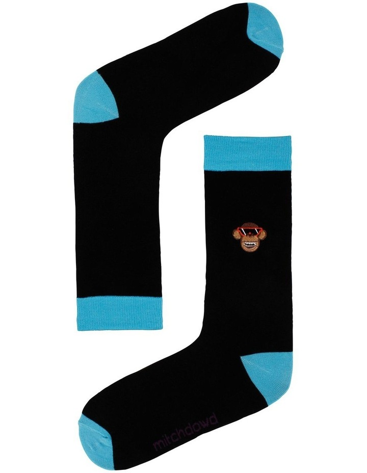 Embroidered Animals 3 Pack Socks image 3