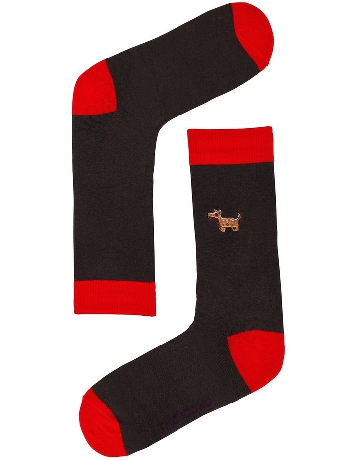 Embroidered Animals 3 Pack Socks image 4