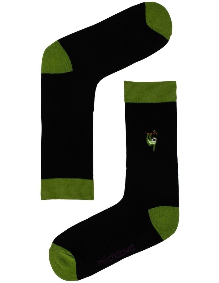 Embroidered Animals 3 Pack Socks image 5