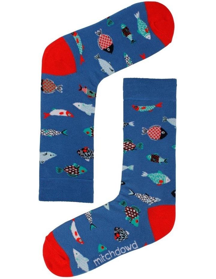Turtle & Fish 2 Pack Socks image 2