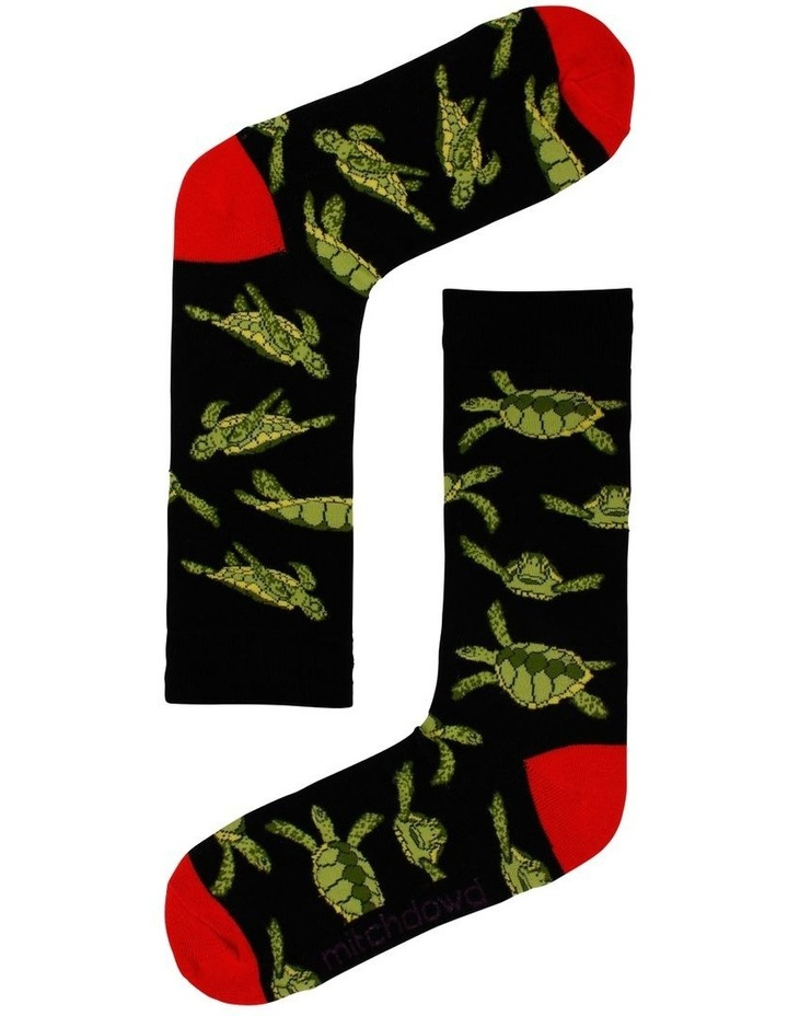 Turtle & Fish 2 Pack Socks image 3