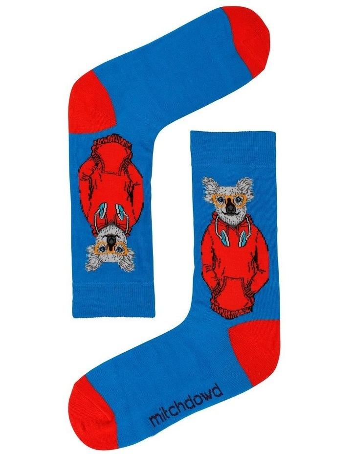 Dressed Up Down Under 5 Pack Socks image 6