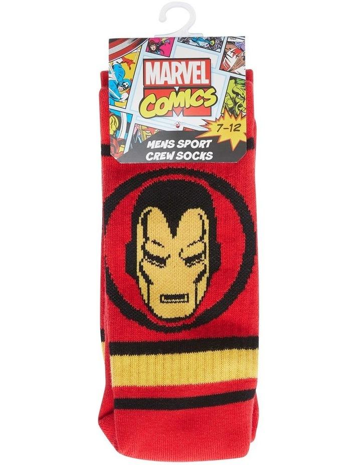 Marvel Logo Sport Sock image 1