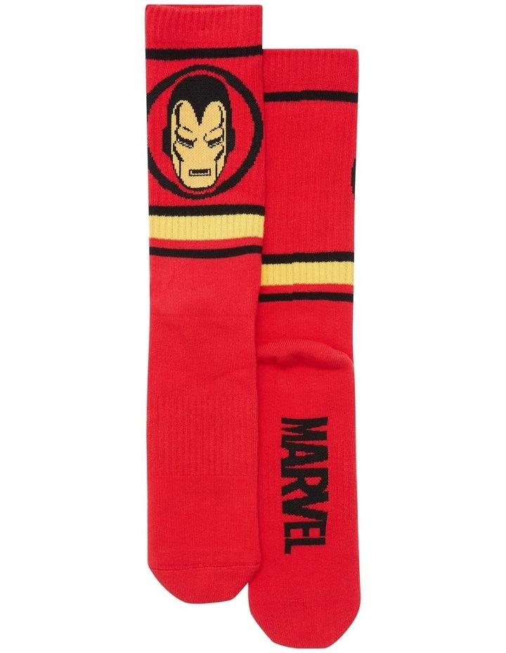 Marvel Logo Sport Sock image 2