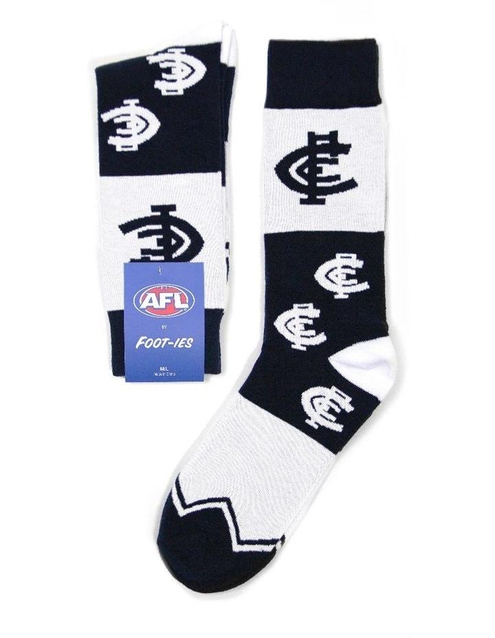 AFL Carlton Logo Sock image 1