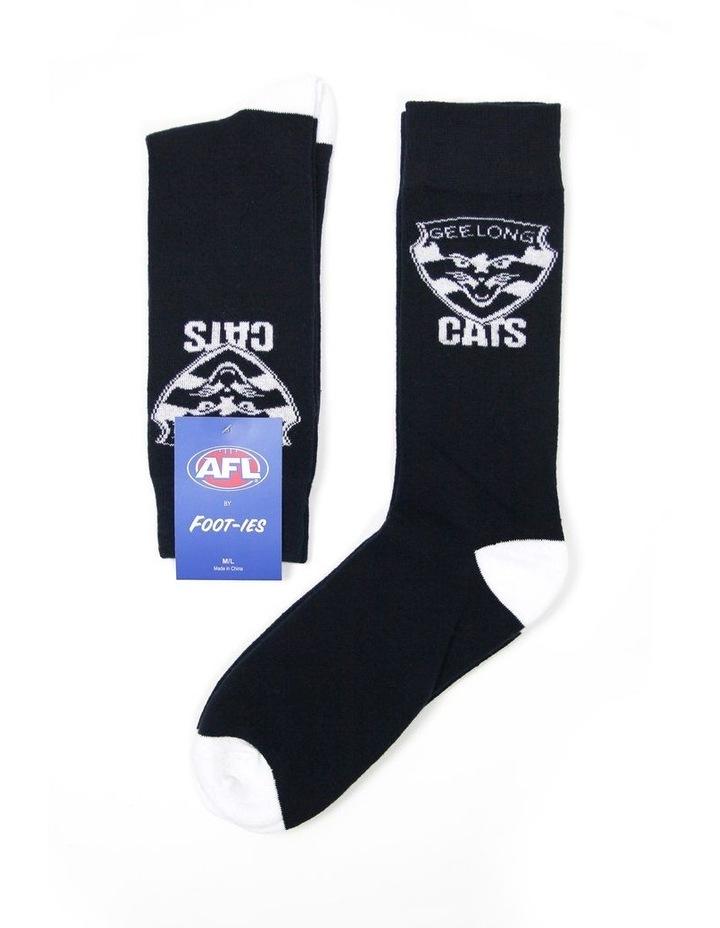 AFL Geelong Team Sock image 1