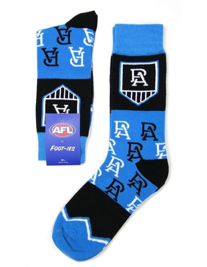 AFL Port Adelaide Logo Sock image 1