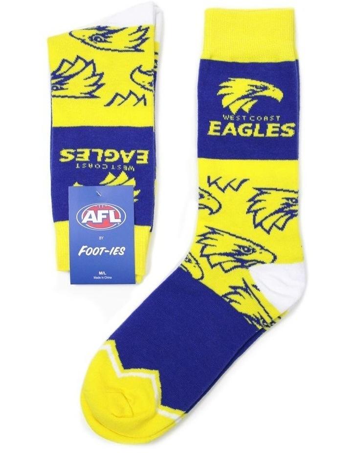 AFL West Coast Eagles Logo Sock image 1