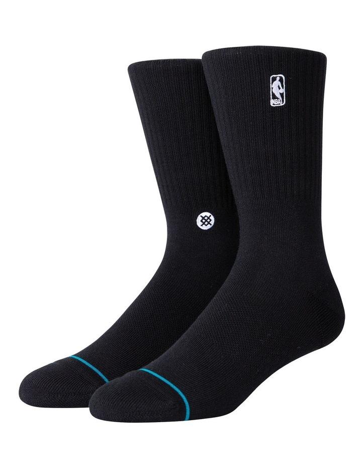 Nba Logo Crew Sock image 1