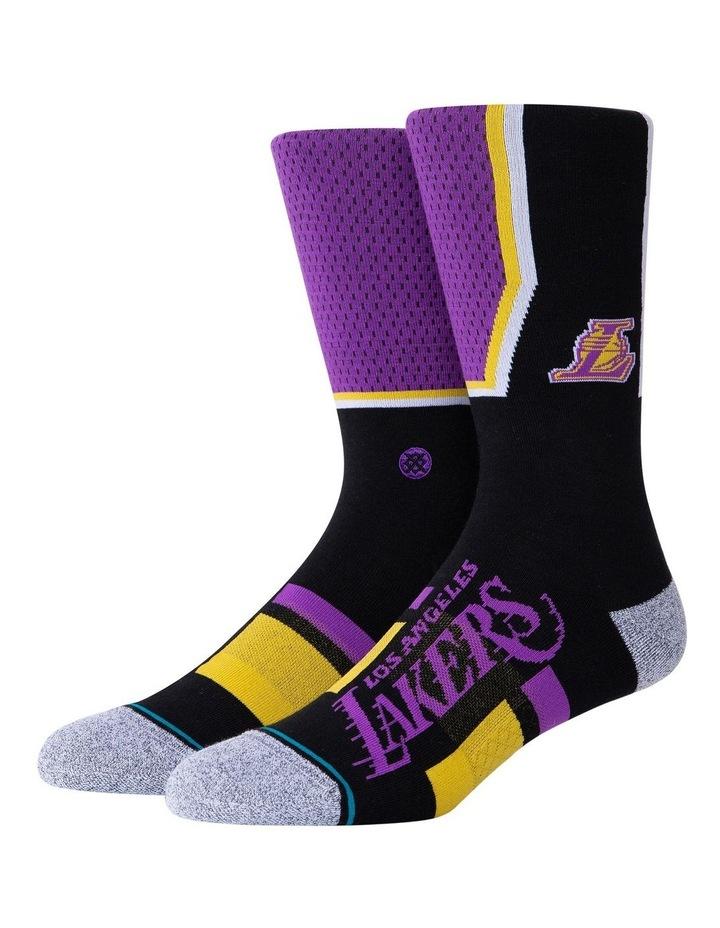 NBA Lakers Shortcut Sock image 1
