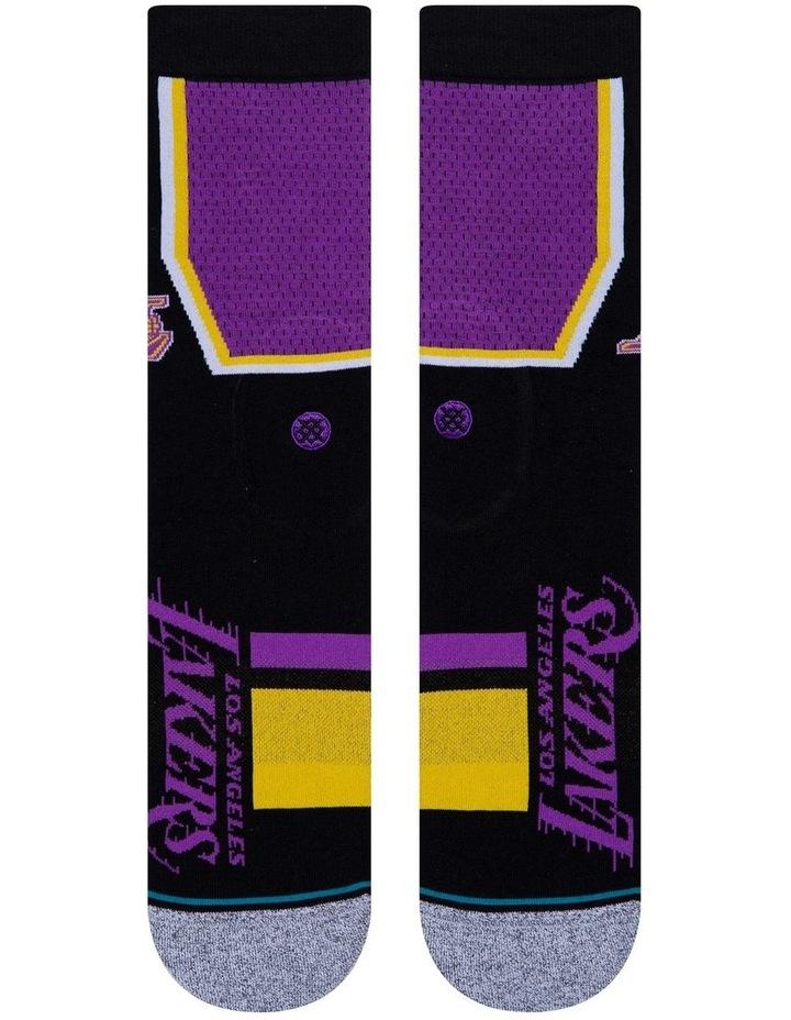 NBA Lakers Shortcut Sock image 2