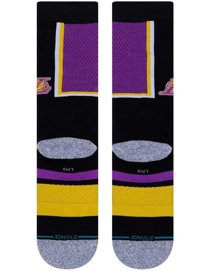 NBA Lakers Shortcut Sock image 3