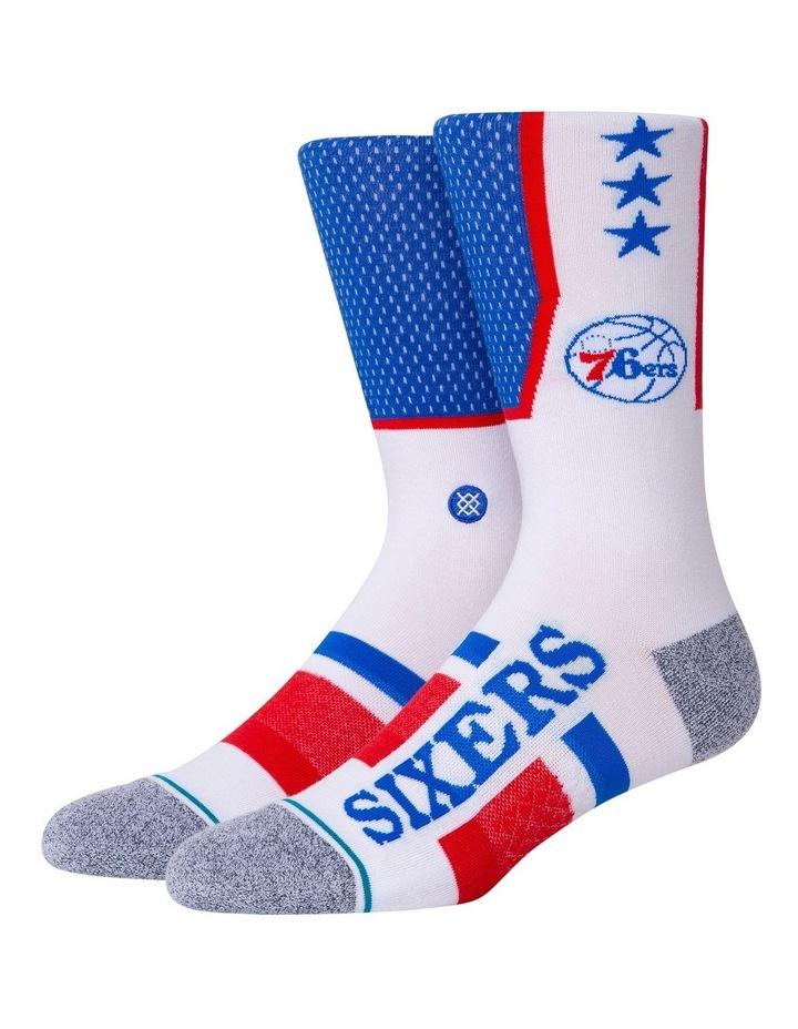 Nba 76ers Sock image 1