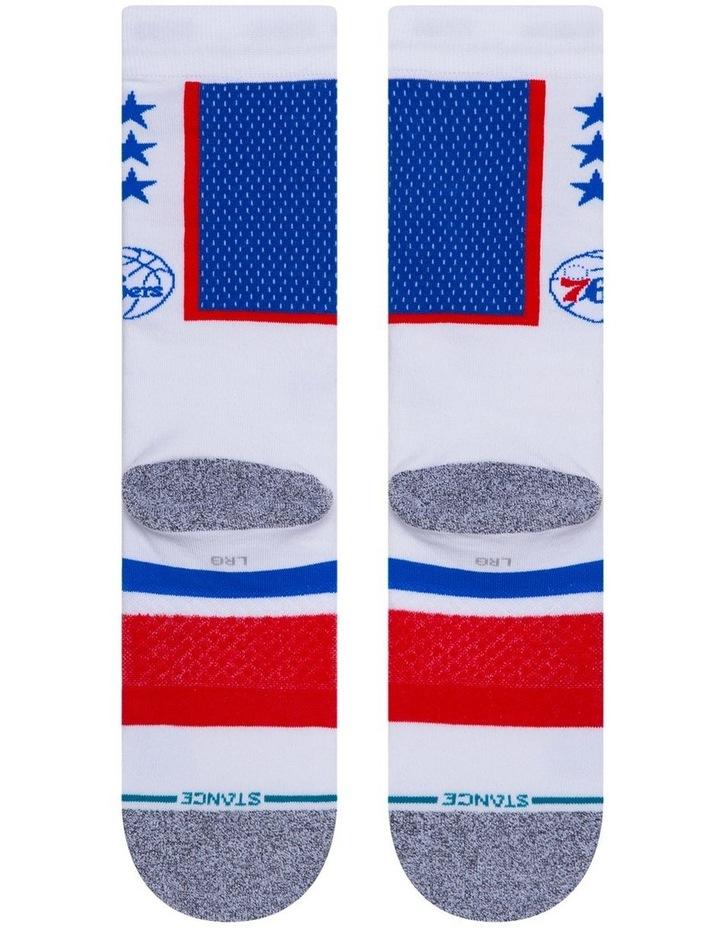 Nba 76ers Sock image 3