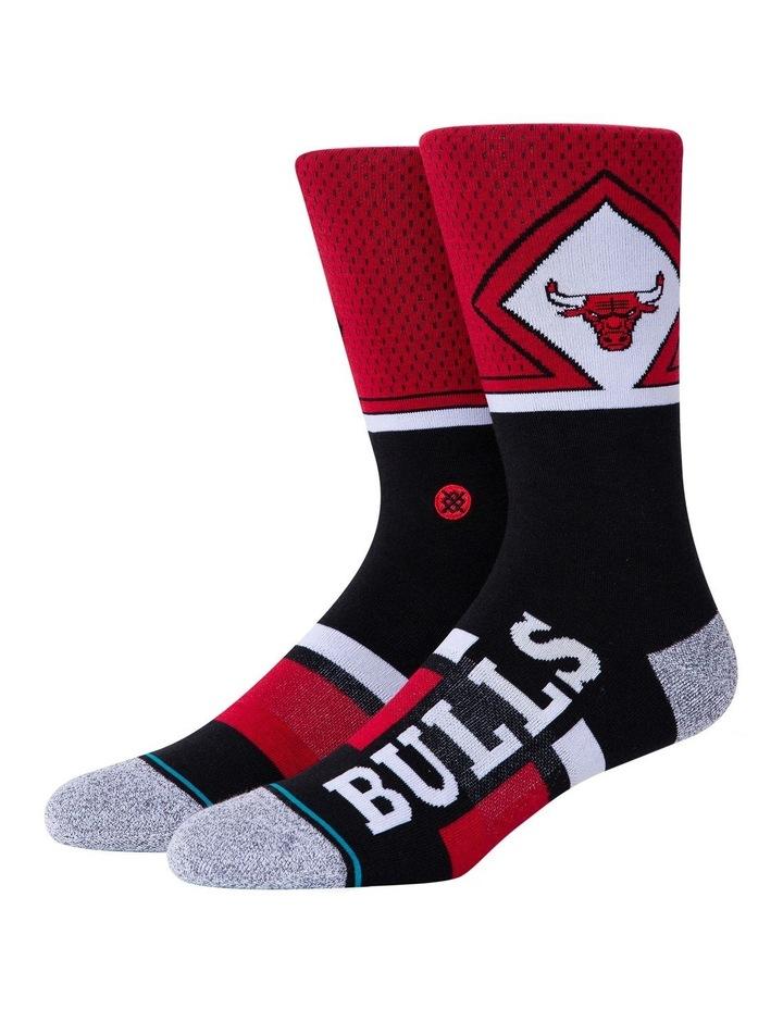 NBA Bulls Sock image 1