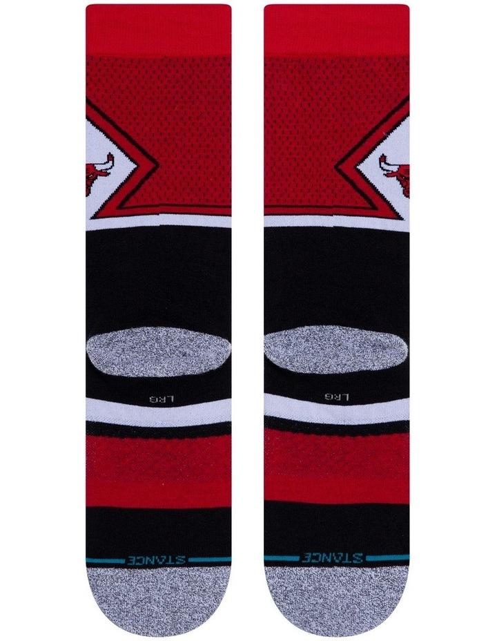 NBA Bulls Sock image 3