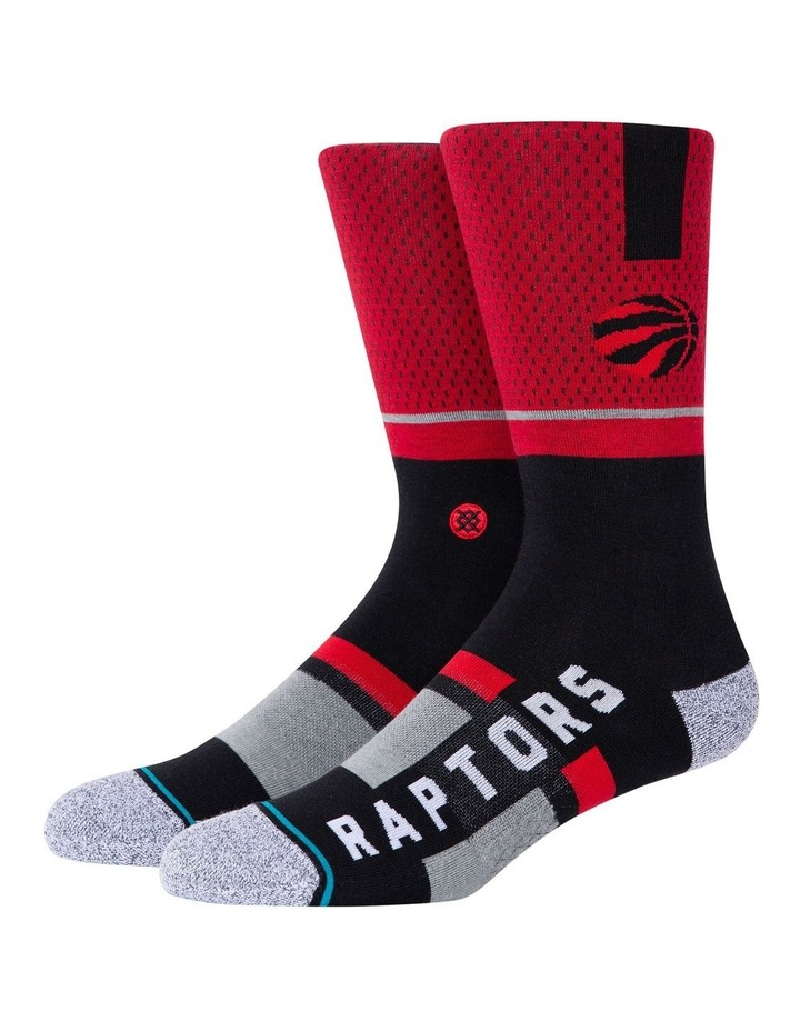 NBA Raptors Sock image 1